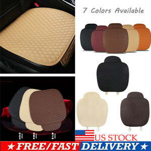 Us Soft Breathable Cool Car Chair Gel Honeycomb Seat Cushion Saddle Back Support