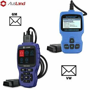 Obd2 Auto Scanner Abs Srs Airbag Diagnostic Tool Body Control Media For Gm