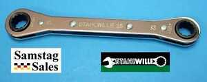 Stahlwille 25 12x13 Germany 12mm X 13mm Flat Ratchet Ring Spanner