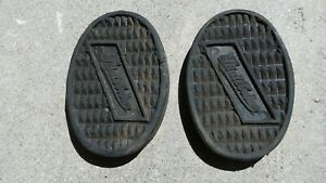 1954 1930 Studebaker Nos Clutch Brake Pedal Pads Oem With Logo Hot Rod Parts