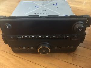 06 11 Chevrolet Impala Lt Cd Player Radio Head Unit Oem With Auxillary 15951758