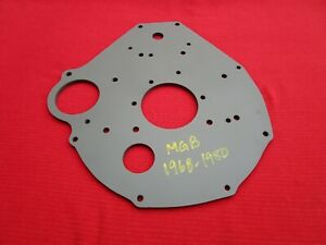 Reconditioned And Primed Oem Rear Engine Plate For 1968 1980 Mgb And Mgb gt