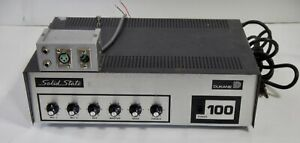 Vintage Dukane 1a1400 Audio 100w Pa microphone Power Amplifier