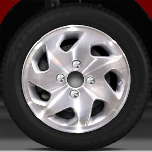 15x6 Factory Wheel medium Sparkle Silver For 1998 2000 Honda Accord