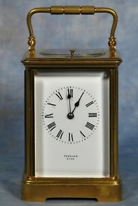 Antique French Grande Sonnerie Quarter Repeater Carriage Clock 19th Century