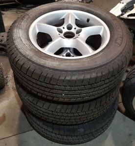 3 Bmw Style 57 Wheels And Tires Oem X5 E53 Genuine best Offer 5x120 17x7 5