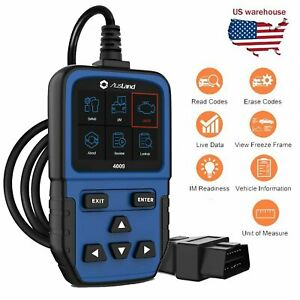 Automotive Obd2 Eobd Code Reader Scanner Cars Diagnostic Engine Light Check Tool