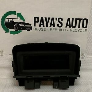 2011 2012 Chevrolet Cruze Display Screen 12783136 09 x
