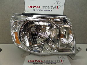 Toyota Tacoma 05 11 Right Updated Front Headlight Set Genuine Oe Oem