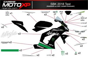 Stickers Decal Moto Compatible Zx10r 2016 2019 Ts18