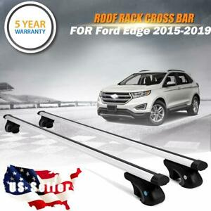 For 2015 2019 Ford Edge Roof Rack Cross Bar Car Top Cargo Carrier Suv Aluminum