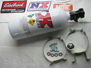 Sale New Nx nitrous Express 5 Lb Lightning Nitrous Bottle Kit W gauge brackets
