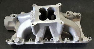 sale Ford Sb 260 289 302w Windsor Parker Style High Rise Intake Manifold Satin