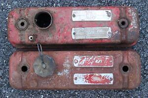 Mg Mgb Valve Covers Red
