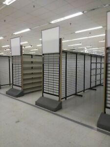 Gondola Shelving Double Sided Store Shelves Fixtures Display Victorville Ca