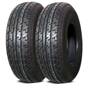 2 New Lexani Lxst 105 St215 75r14 102s C Load 6 Ply Radial Trailer Tires