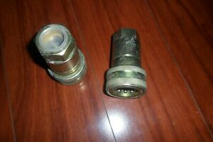 Hnv34nptf 03a Hydraulic Coupling Quick Connect 3 4 Couplings New