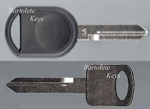 Replacement Key Fits Ford F350 F450 Flex Focus Fusion Mustang Ranger Taurus