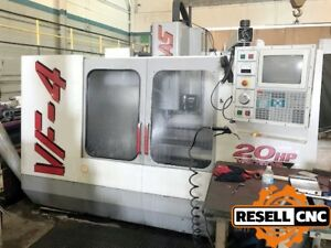 1998 Haas Vf 4 Cnc Vertical Mill