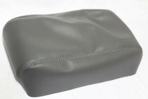 Armrest Center Console Lid Cover Vinyl For 05 07 Ford Escape Gray
