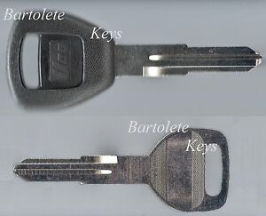 Replacement Transponder Key Blank Fits Many Acura Car Models