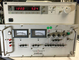 Agilent Hp 6035a Variable Dc Power Supply 0 500v 0 5a 1000w Load Tested