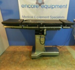 Steris amsco 3080 Sp Or Surgery Table With Hand Control Pads New Batteries