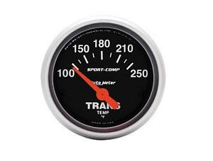 Auto Meter Sport Comp Electrical Transmission Temperature Gauge 2 1 16 52mm