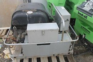 Scintrex Mg15kw ad Generator With Vw Industrial Engine