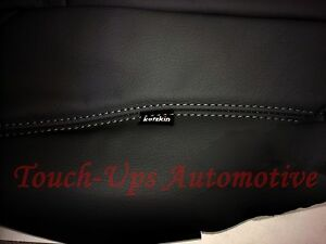 2012 2014 Toyota Tacoma Double Cab Katzkin Black Graphite Leather Kit New Foldft