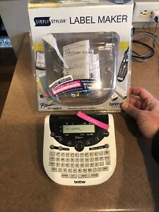 New Brother P touch Simply Stylish Label Maker Electronic Labeling Pt 1290bt2