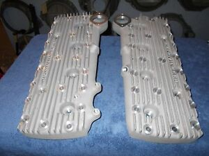 Offenhauser Flathead Ford Cylinder Heads 1949 53 Offy 1069 375