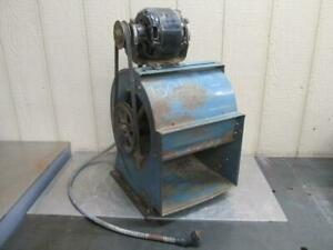 10 Squirrel Cage Ventilation Blower Fan Centrifugal W motor 115 Volt 1 Ph