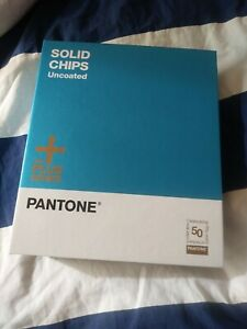 Pantone Solid Chips Uncoated The Plus Series 2013 Celebrating 50 Years Edition
