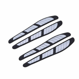 4 Pcs Scratch Strip Protection Door Edge Sticker Decal Guard Trim Molding Fit Vw