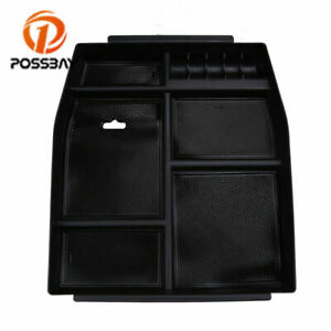 Center Console Organizer Car Tray Storage Box Fit For Ford F150 2015 2017 2018