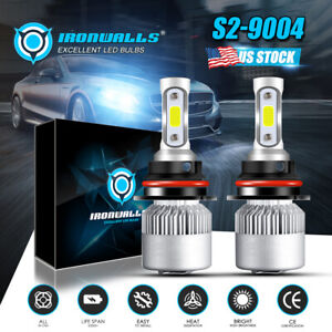 9004 Hb1 Led Headlight Bulb For Dodge Ram 1500 2500 3500 1994 2001 High Low Beam