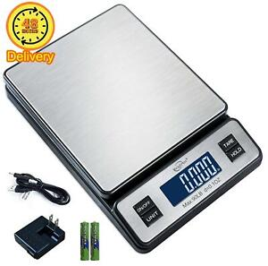 Weighmax W 2809 90 Lb X 0 1 Oz Durable Stainless Steel Digital Postal Scale Shi