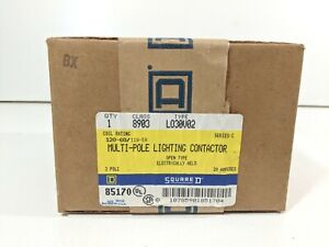 Square D 8903 Lo30v02 3 Pole Lighting Contactor new In Box