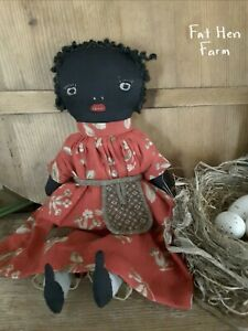 Fat Hen Farm Rag Doll Early Cloth Ada Pearl Reserved For Bobcindan