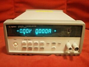 Agilent E3642a Programmable Dc Power Supply 8027