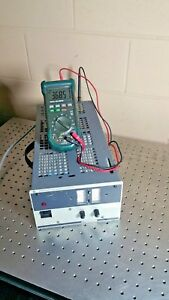 Kepco Dc Power Supply 0 To15 V 0 To 25 A Load Jqe 15 25m