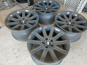 Bmw E46 E65 E66 E38 E39 Oem 19 Staggered Star Spoke Style 95 Borbet Wheels Rims