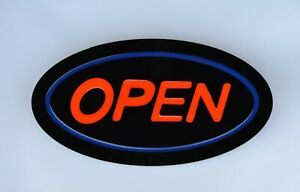 Led Neon Light Open Business Sign With Remote Control