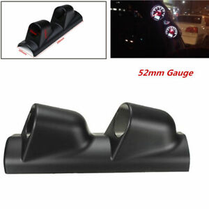52mm 2 Heavy Duty Racing Sport Auto Meter Gauge Pillar Mount Pod Holder Bracket