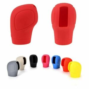 Red Gear Stick Shift Knob Shifter Lever Cover Protector Nonslip Universal Car