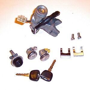 Lock Set Ignition Both Doors Glove Box Oem sgp Suzuki Samurai 86 92