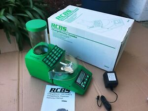 RCBS ChargeMaster 1500 Combo Reloading Scale Powder Dispenser 98923  NICE!