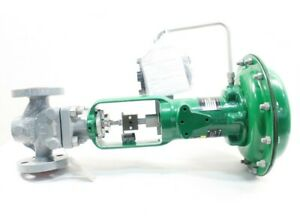 Fisher Ed Pneumatic 667 Control Valve 300 Steel Flanged 1in