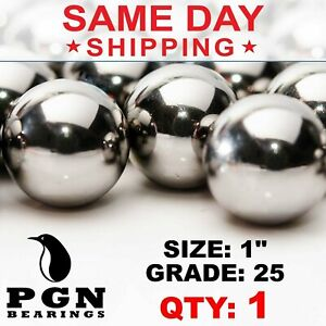 1 Inch Aisi 440 Stainless Steel Bearing Ball G25 Precision